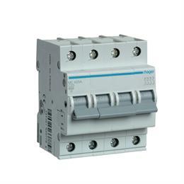 Автоматический выключатель Hager 4P 6kA C-25A 4M MC425A
