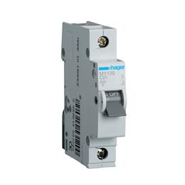 Автоматический выключатель Hager 1P 4, 5kA C-20A 1M