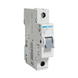 Автоматический выключатель Hager 1P 4, 5kA С-63A 1M