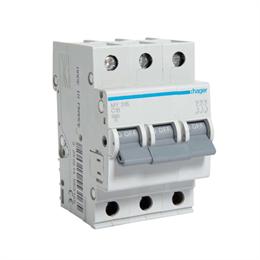 Автоматический выключатель Hager 3P 4, 5kA C-16A 3M