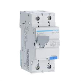 Дифференциальный автоматический выключатель Hager 1P+N 4.5kA C-16A 30mA AD866J