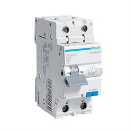 Дифференциальный автоматический выключатель Hager 1P+N 4.5kA C-32A 30mA AD882J