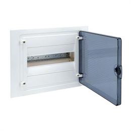 Щит скрытой установки Hager, 12М, с прозрачной дверцей VF112TD